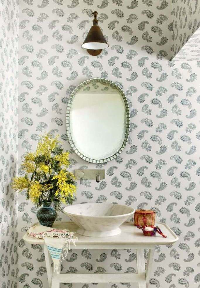 Applying Nice Background bathroom remodel ideas
