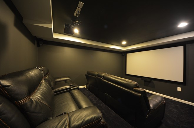 Pick a Theme - Basement Home Theater