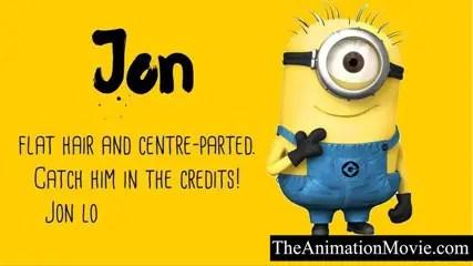 Minion Names - Jon