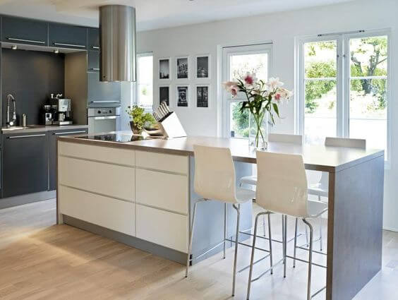 40 Awesome Kitchen Island Design Ideas With Modern Decor