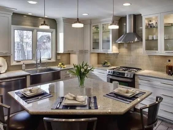 Extraordinary farmhouse kitchen island plans #kitchen #kitchenisland #kitchendesign #kitchenideas