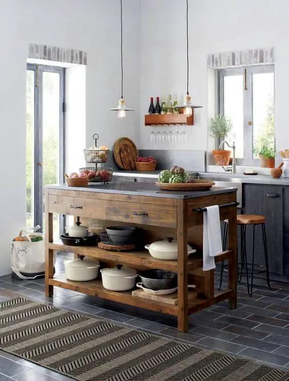 Unforgettable l shaped kitchen designs with island #kitchen #kitchenisland #kitchendesign #kitchenideas