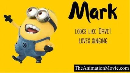 Minion Names - Mark