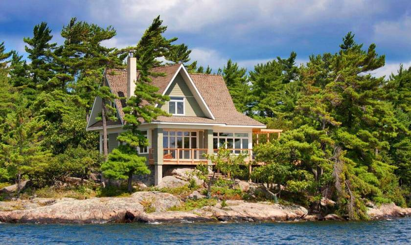 types of houses Small vacation cottage