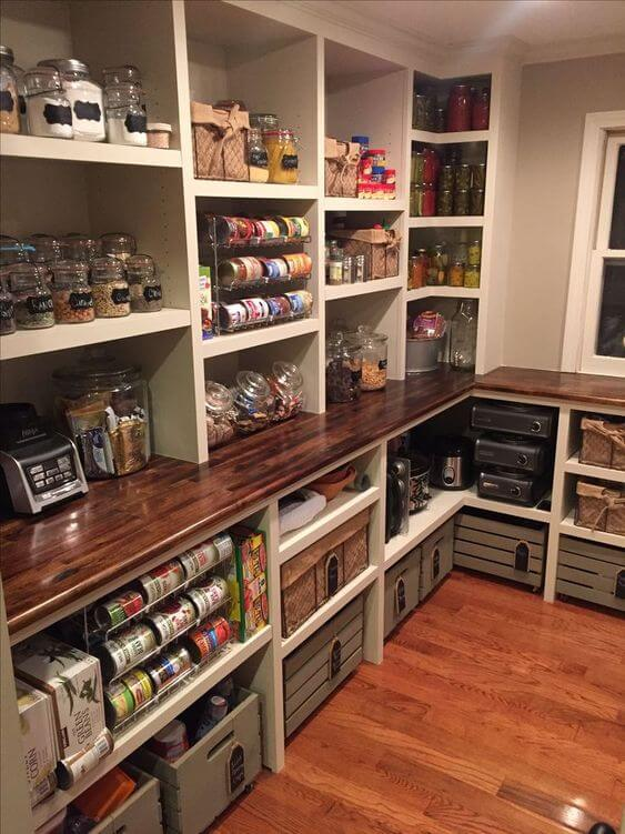 20+ Mind,blowing Kitchen Pantry Design Ideas for Your