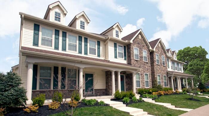 types of houses townhome