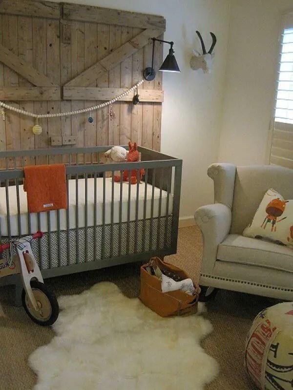 Fantastic baby boy country nursery ideas