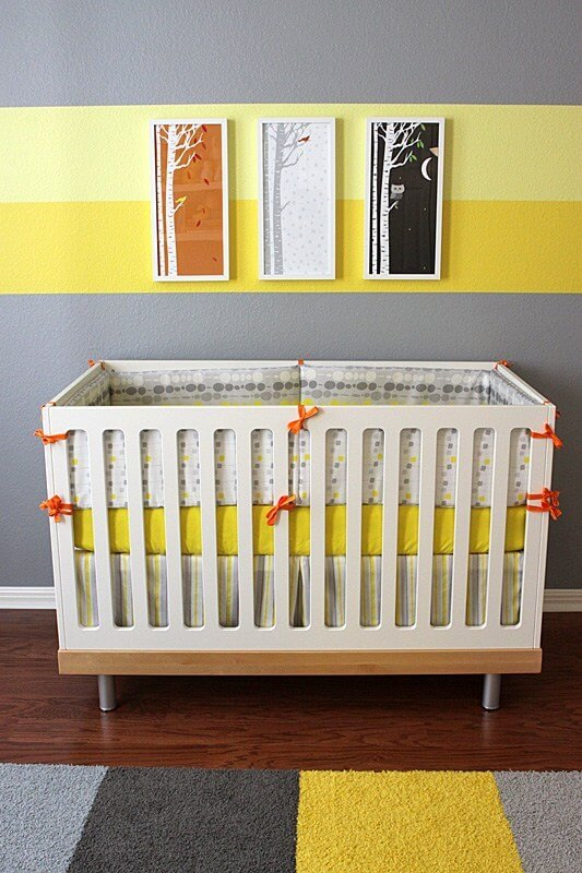 Spectacular baby boy nursery color ideas