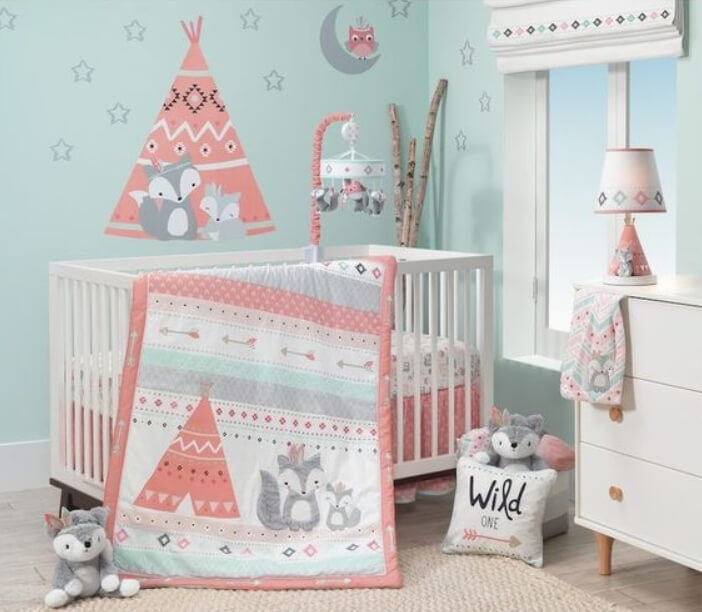 baby girl room color ideas