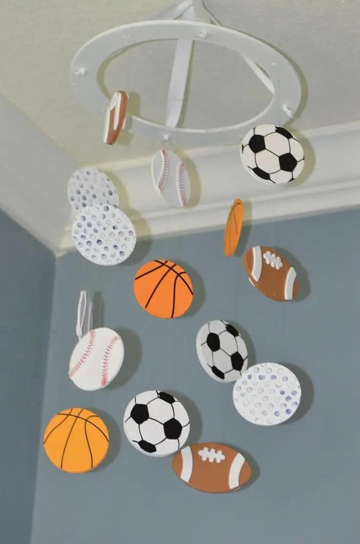Brilliant baby boy nursery ideas sports