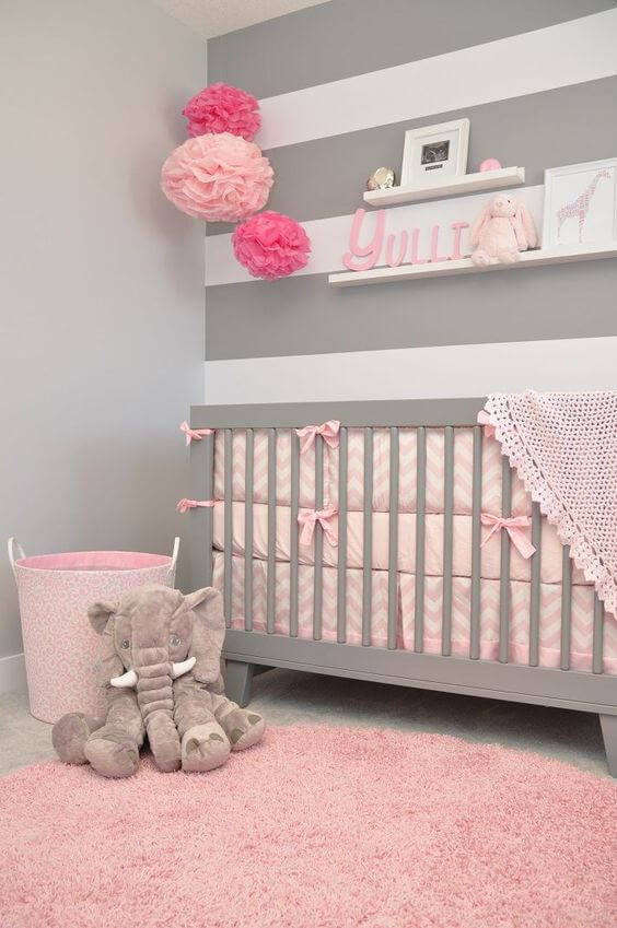 50 Inspiring Nursery Ideas for Your Baby Girl - Cute Designs ...