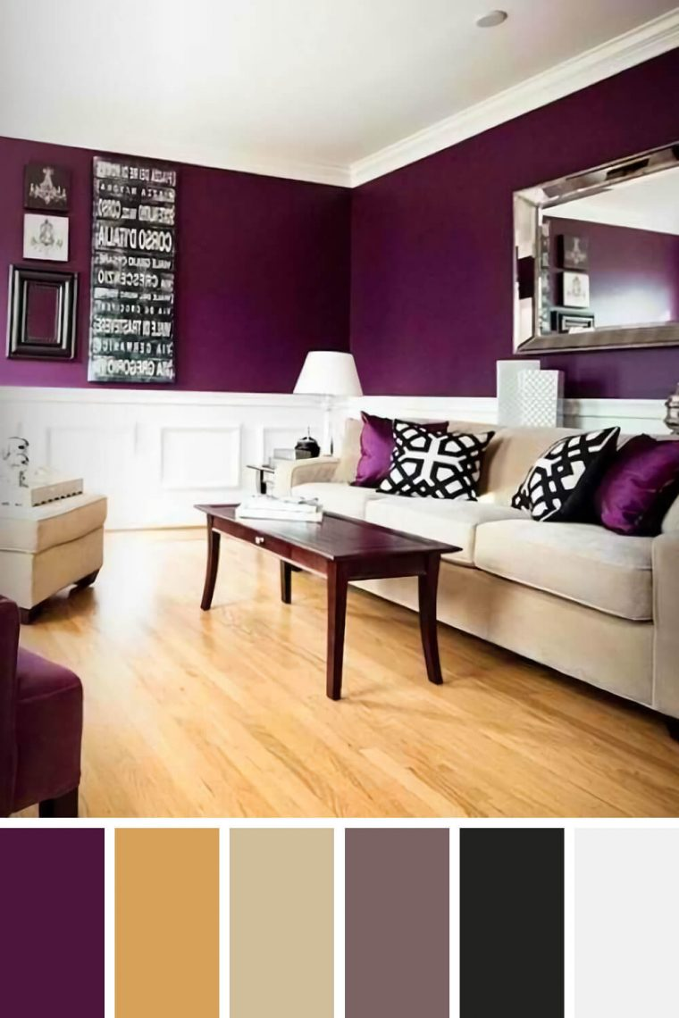 25 Gorgeous Living Room Color Schemes to Make Your Room Cozy on Colourful Living Room  id=55702