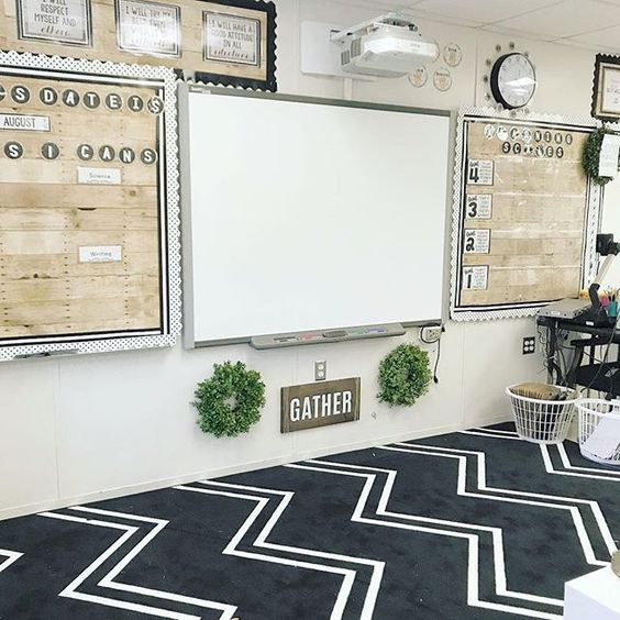 Nursery Ideas And Décor To Inspire You: 35+ Excellent DIY Classroom Decoration Ideas & Themes To