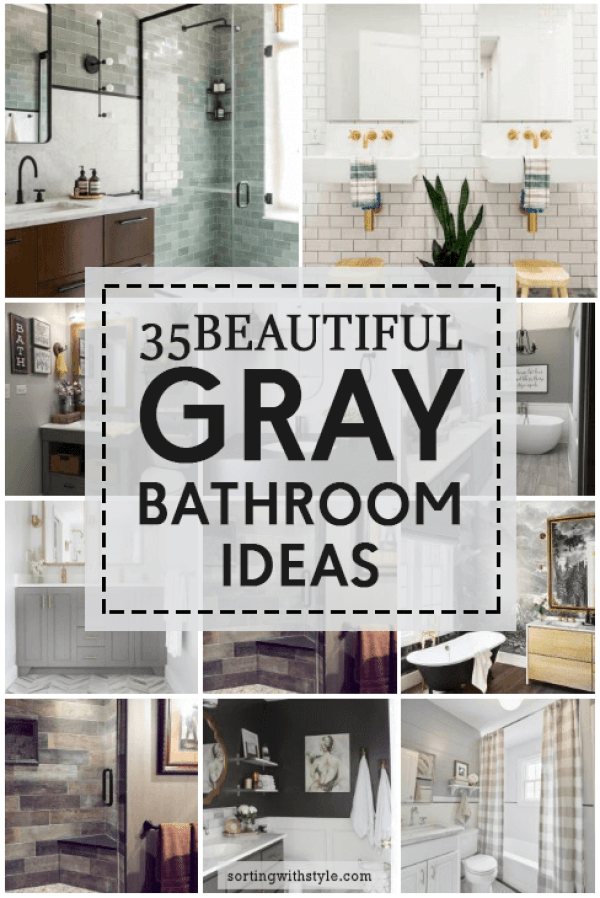 Astonishing gray and orange bathroom ideas #Greybathroomideas #Masterbathroomideas #Bathroomtileideas #Halfbathroomideas