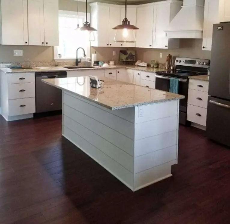 Shiplap Kitchen Island Design Ideas