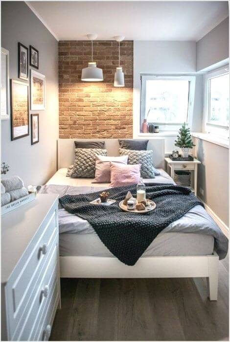 25 Small Bedroom Ideas That Are Look Stylishly & Space Saving on Bedroom Ideas For Small Spaces  id=80967