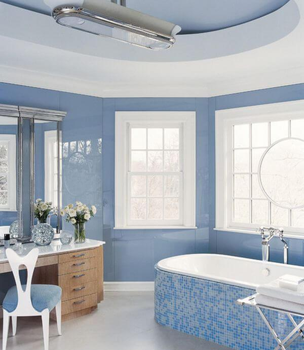 charming blue bathroom color schemes | 25 Beautiful Bathroom Color Scheme Ideas for Small ...