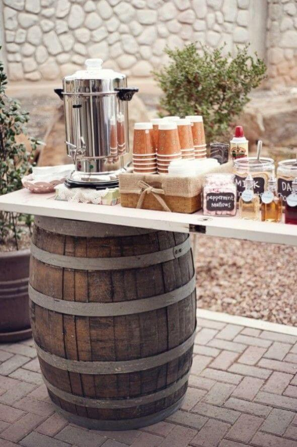 coffee bar ideas for party