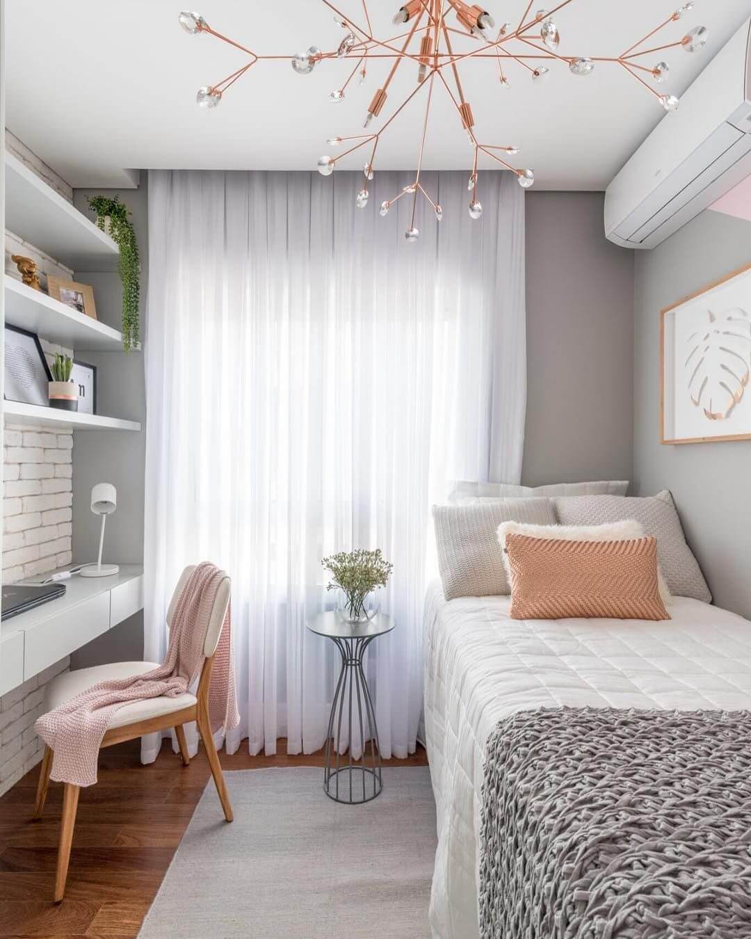 25 Small Bedroom Ideas That Are Look Stylishly & Space Saving on Small Room Ideas For Girls  id=62588