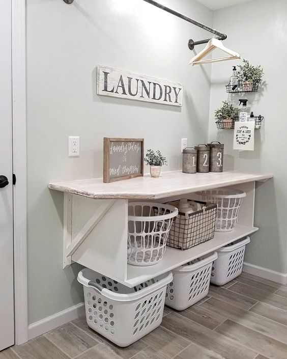 20 Brilliant Laundry Room Ideas For Small Spaces