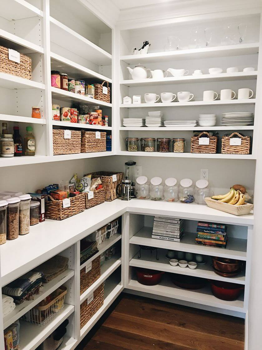 20+ Mind-blowing Kitchen Pantry Design Ideas For Your