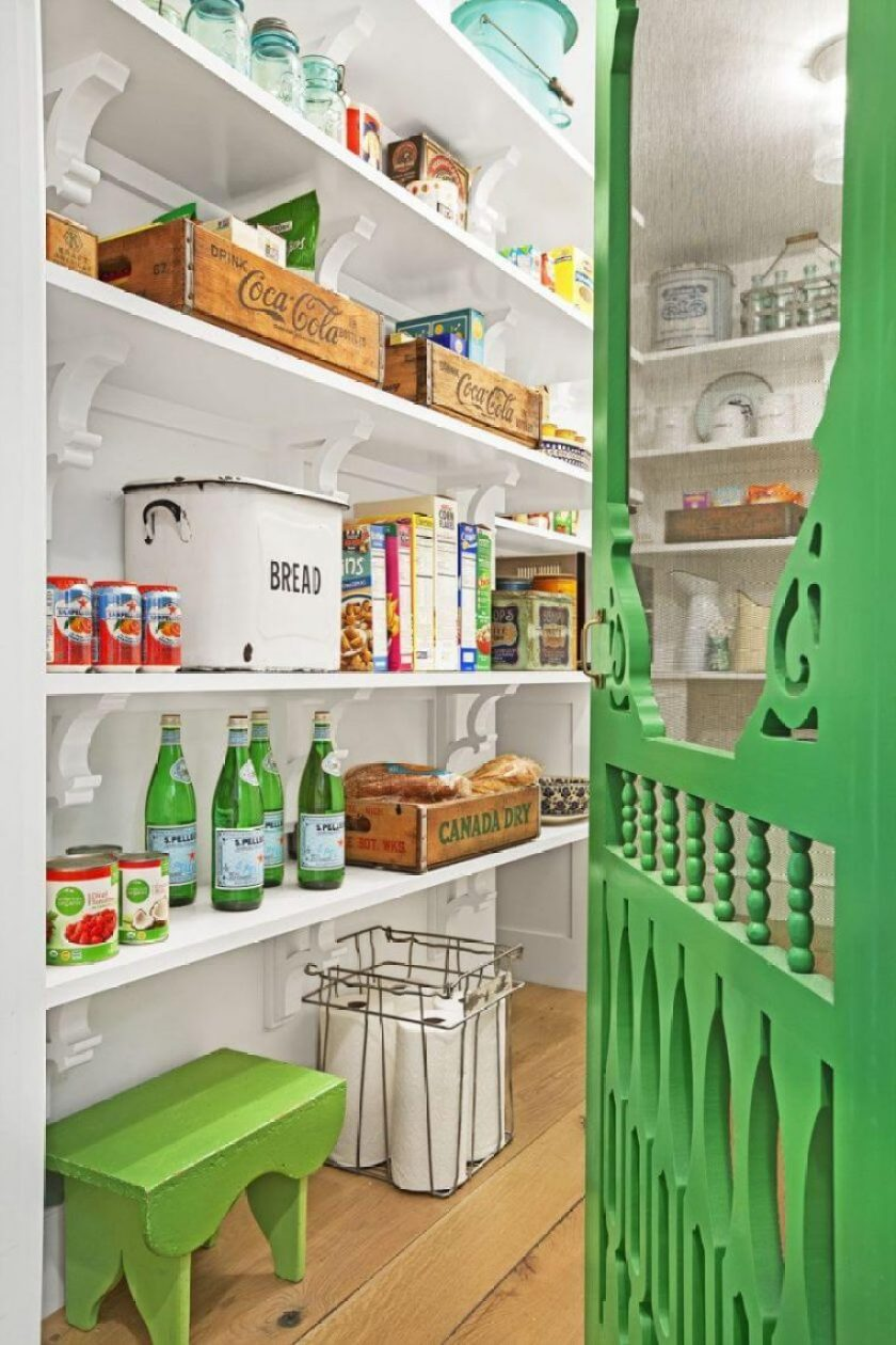 20+ Mind-blowing Kitchen Pantry Design Ideas for Your Inspiration