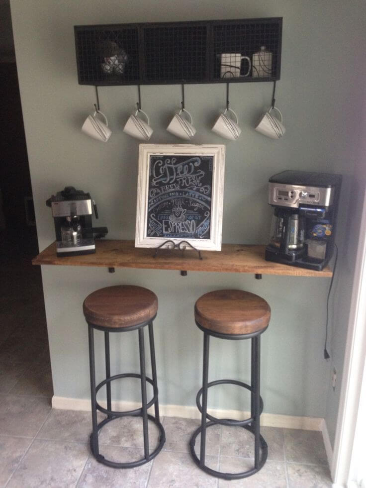 mini coffee bar ideas