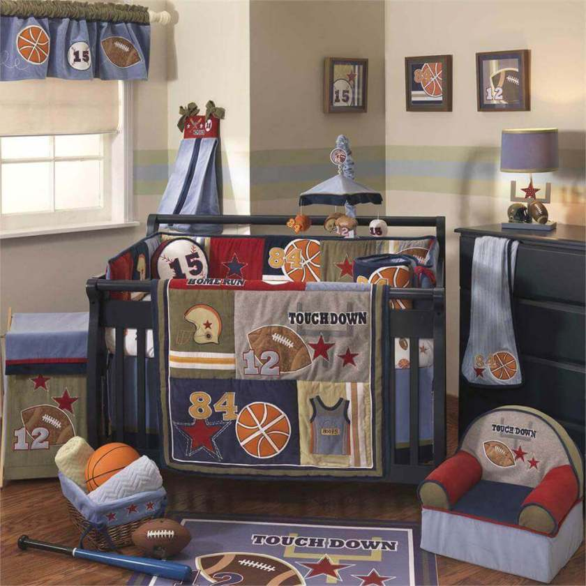 Wondrous baby boy nursery bedding ideas