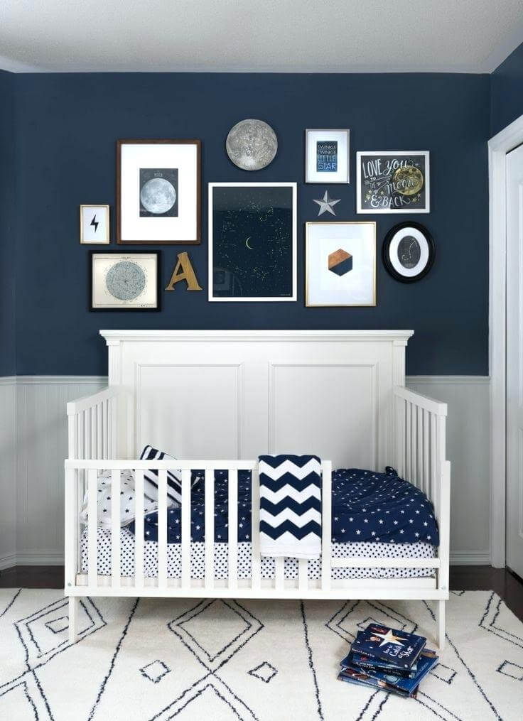 Baby Boy Room Color Ideas: 25 Gorgeous Baby Boy Nursery Ideas To Inspire You
