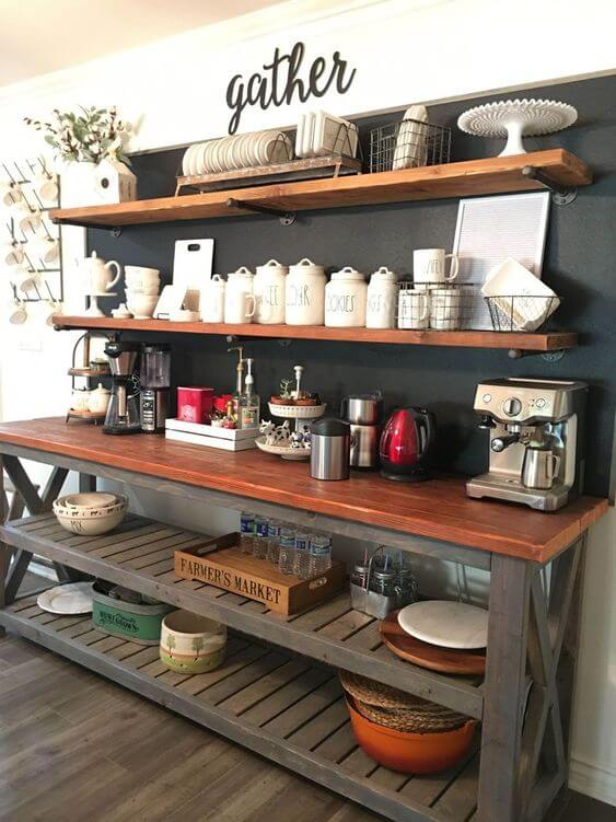 30+ Best Home Coffee Bar Ideas for All Coffee Lovers