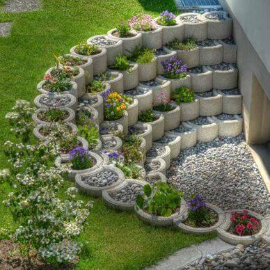 Cheat With the Height - small backyard zen garden ideas