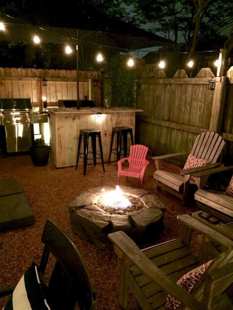 30+ Small Backyard Landscaping Ideas on A Budget ... on Cheap Back Garden Ideas id=61498