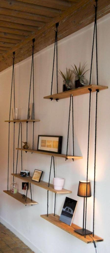 Hanging Shelves in Literal Meaning
