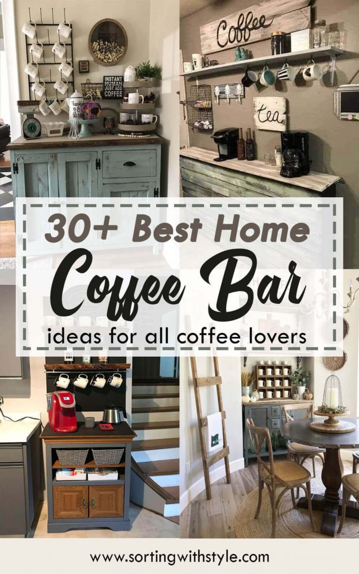 30+ Best Coffee Bar Ideas for The Home
