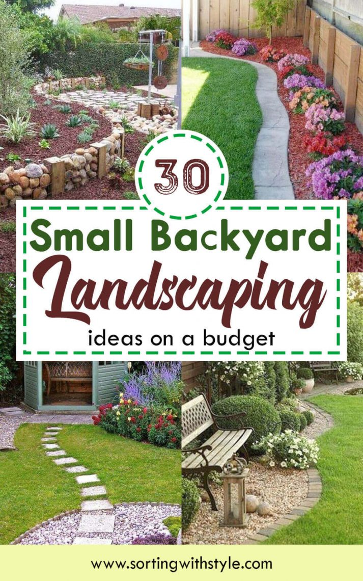 30+ Small Backyard Landscaping Ideas on A Budget ... on Backyard Landscaping Ideas On A Budget id=17651