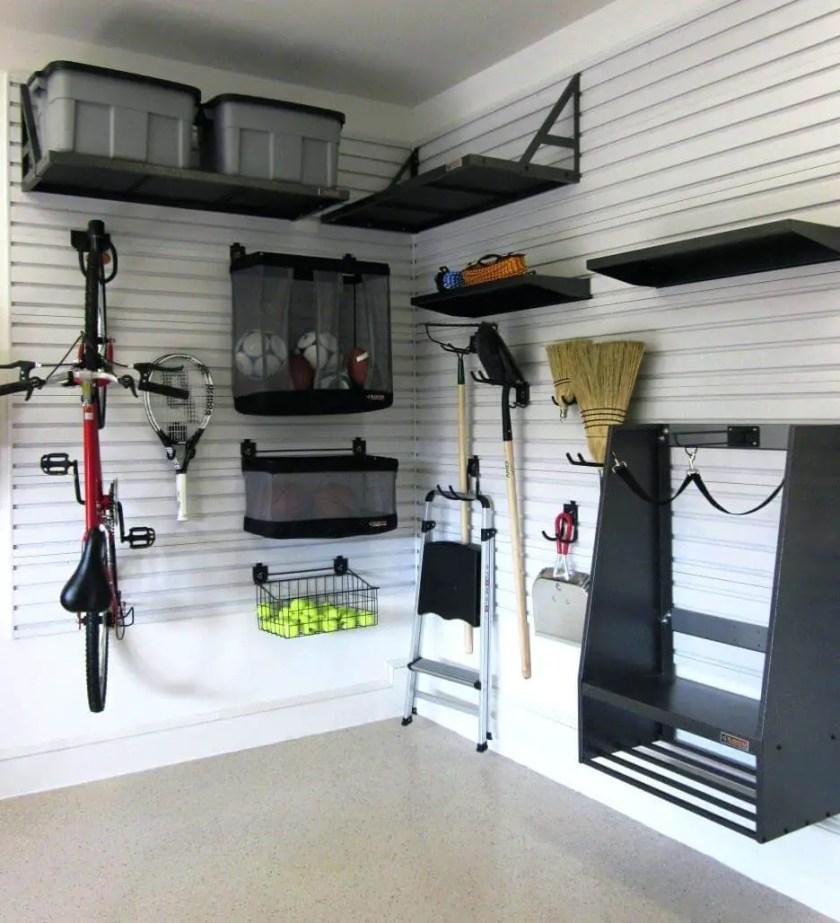 20+ Genius Garage Storage Ideas to Keep Your Garage Organized on Garage Decorating Ideas  id=36675