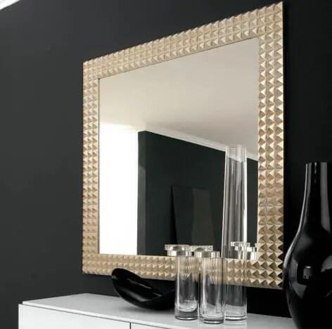 Shining finish - Bathroom Mirror Ideas
