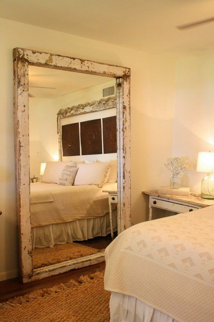 20 Best Rustic Bedroom Decor Ideas and Designs - Sorting ... on Mirrors Next To Bed  id=62059