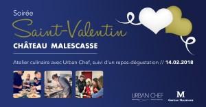 Soirée Saint Valentin @ CHATEAU MALESCASSE    Lamarque   Nouvelle-Aquitaine   France