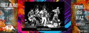 Les Barbeaux (Chanson rock) @ La Guinguette Chez Alriq | Bordeaux | Nouvelle-Aquitaine | France