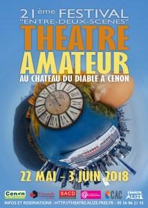 Festival ENTRE-DEUX-SCÈNES théâtre amateur @ château du Diable | Cenon | Nouvelle-Aquitaine | France