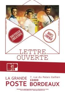 Lettre Ouverte @ La Grande Poste | Bordeaux | Nouvelle-Aquitaine | France