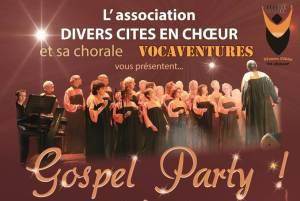 Gospel Party au profit de Vaincre la Mucoviscidose @ Salle Bellegrave | Pessac | Nouvelle-Aquitaine | France