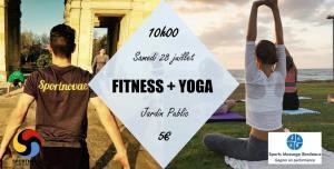 Fitness + Yoga @ jardin public | Bordeaux | Nouvelle-Aquitaine | France
