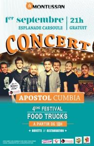 APOSTOL CUMBIA @ à MONTUSSAN Esplanade Carsoule | Montussan | Nouvelle-Aquitaine | France