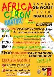 AFRICA CIRON 4.0 - NOAILLAN (33) @ domaine Dubernet | Noaillan | Nouvelle-Aquitaine | France