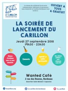 Soirée de Lancement du Carillon Bordeaux @ Wanted Café Bordeaux  | Bordeaux | Nouvelle-Aquitaine | France