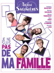 JE NE SUIS PAS DE MA FAMILLE @ Théâtre des Salinières | Bordeaux | Nouvelle-Aquitaine | France