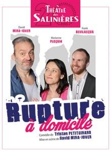 RUPTURE A DOMICILE @ Théâtre des Salinières | Bordeaux | Nouvelle-Aquitaine | France
