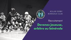 Le Roller Derby Bordeaux Club recrute ! @ Darwin | Bordeaux | Nouvelle-Aquitaine | France